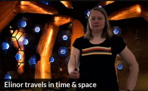 Elinor travels in time & space